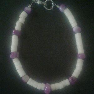 """Jewelry - """"Purple by the sea"""" bracelet"""